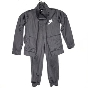 NIKE Boys Two Piece Track Suit Set